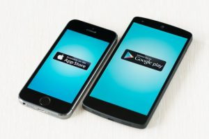 Apple en Android-besturingssystemen