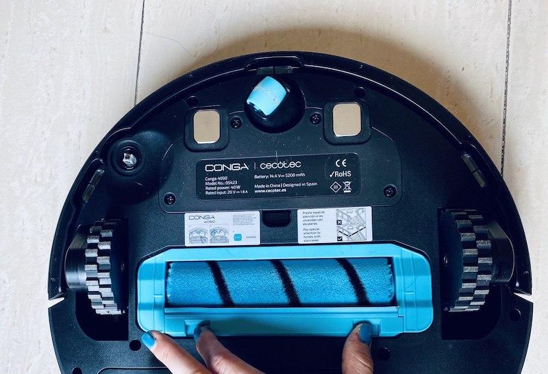 detail vervangende roller