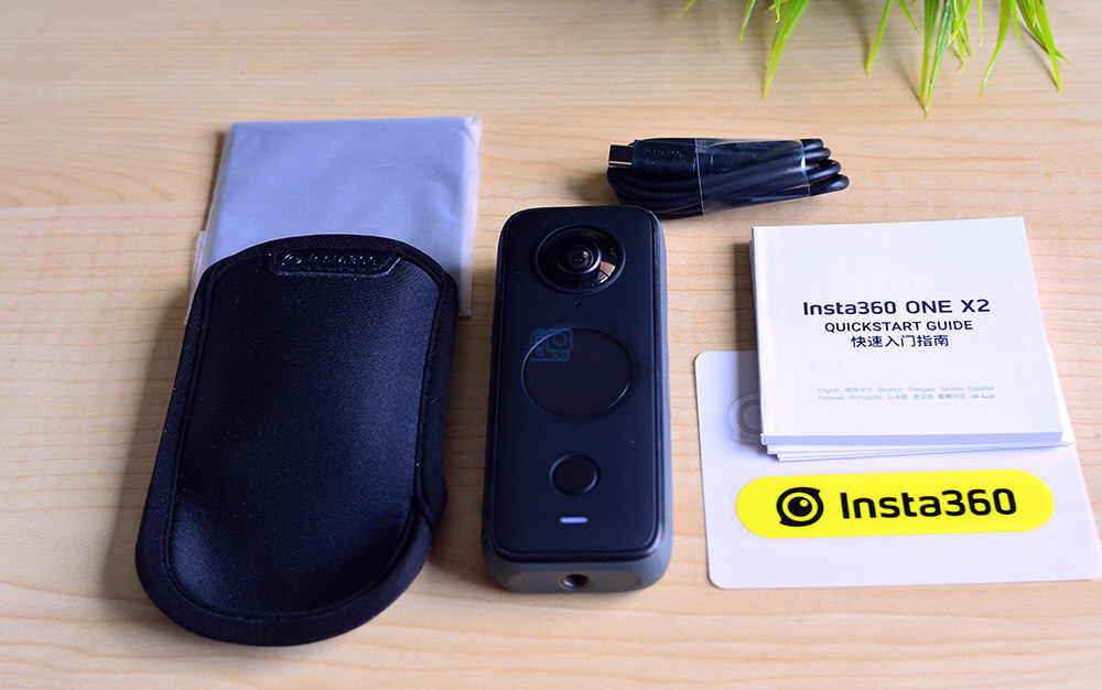 unboxing insta360 one x2