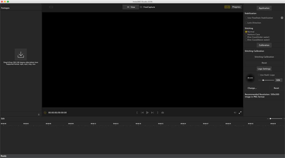 insta360 studio voor mac