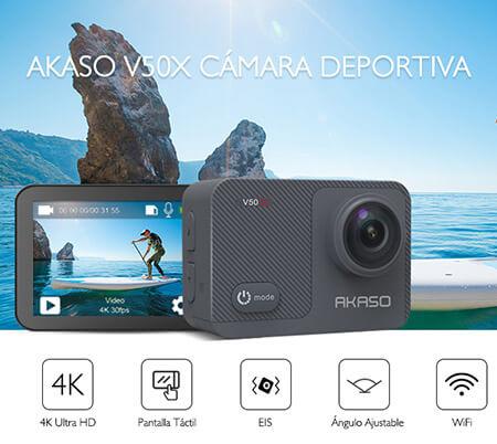beste goedkope sportcamera akaso v50x