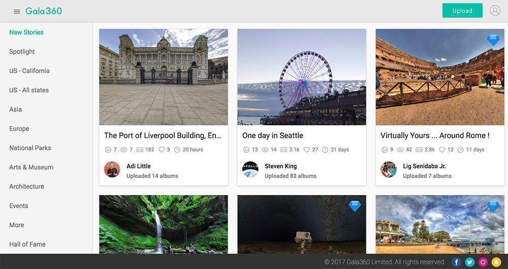 apps video's 360 graden