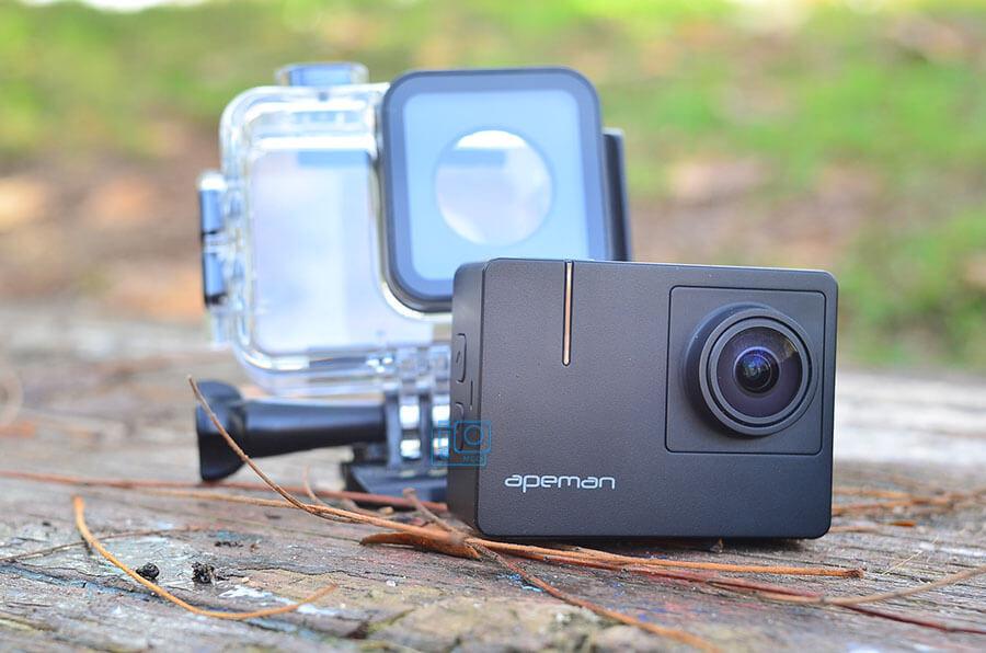 beste goedkope sportcamera's apeman trawo action camera