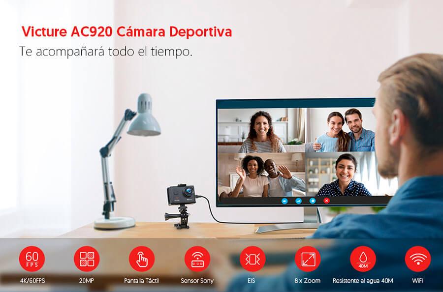 bekijk Victure AC 920 in het Spaans